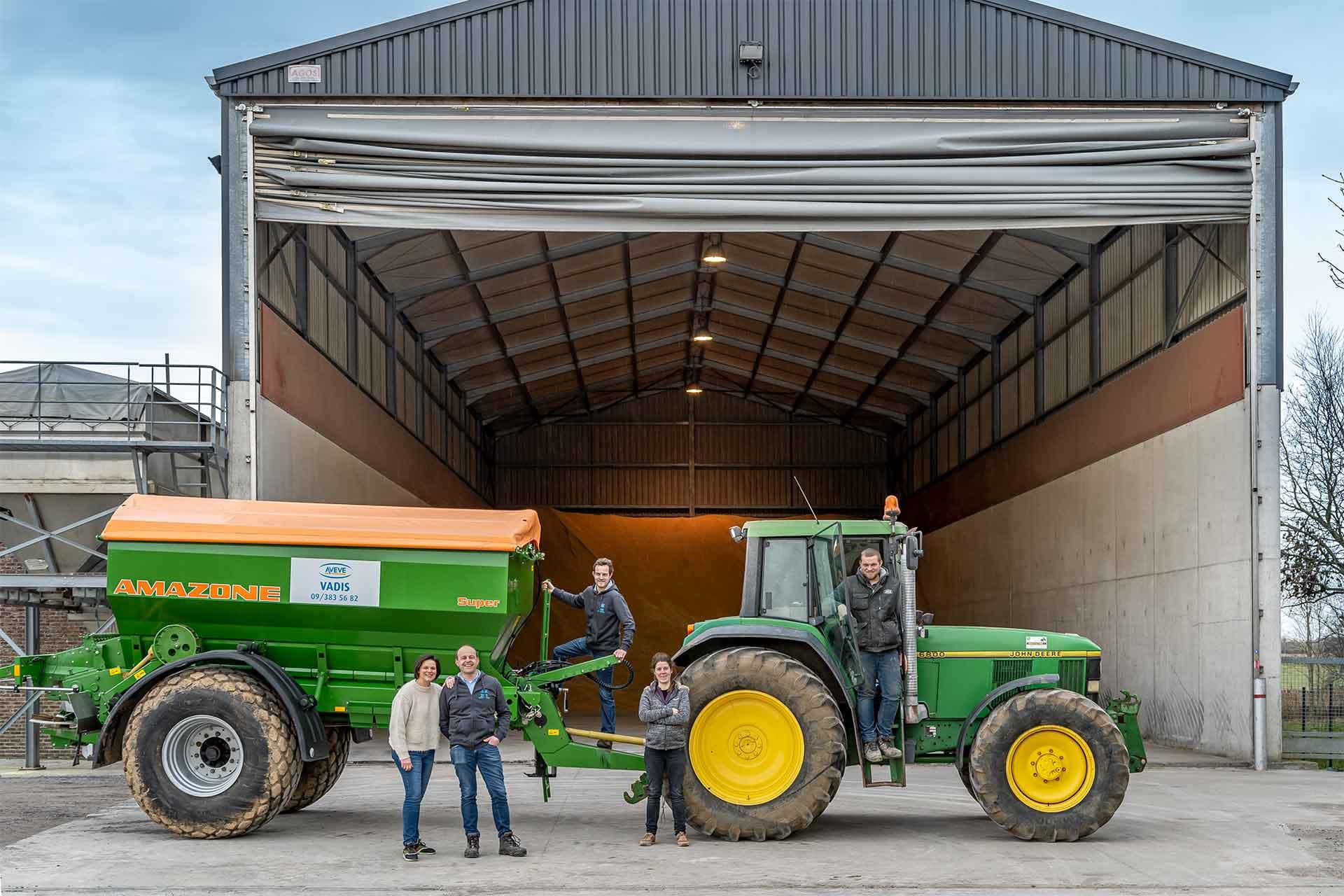 Het Vadis team ten dienste van de landbouwer in de regio Oudenaarde